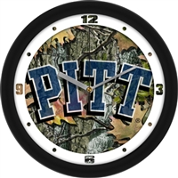 "Pittsburgh Panthers 12"" Wall Clock - Camo"