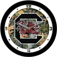 "South Carolina Gamecocks 12"" Wall Clock - Camo"