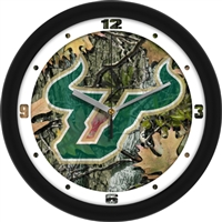 "South Florida Bulls 12"" Wall Clock - Camo"