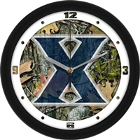 "Xavier Musketeers 12"" Wall Clock - Camo"