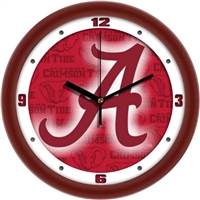 "Alabama Crimson Tide 12"" Wall Clock - Dimension"