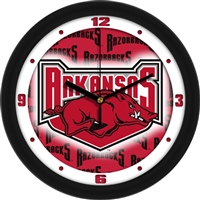 "Arkansas Razorbacks 12"" Wall Clock - Dimension"