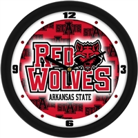 "Arkansas State Red Wolves 12"" Wall Clock - Dimension"