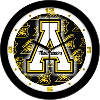 "Appalachian State Mountaineers 12"" Wall Clock - Dimension"