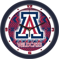 "Arizona Wildcats 12"" Wall Clock - Dimension"