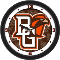 "Bowling Green State Falcons 12"" Wall Clock - Dimension"