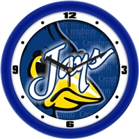 "Creighton Blue Jays 12"" Wall Clock - Dimension"