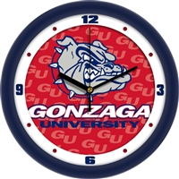"Gonzaga Bulldogs 12"" Wall Clock - Dimension"