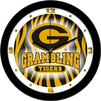 "Grambling Tigers 12"" Wall Clock - Dimension"