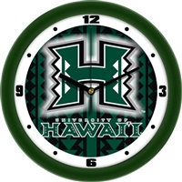"Hawaii Warriors 12"" Wall Clock - Dimension"