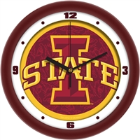 "Iowa State Cyclones 12"" Wall Clock - Dimension"