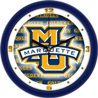 "Marquette Golden Eagles 12"" Wall Clock - Dimension"