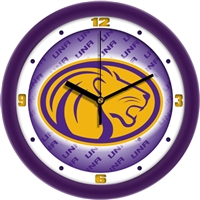 "North Alabama Lions UNA 12"" Wall Clock - Dimension"