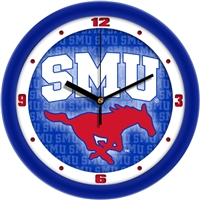 "Southern Methodist Mustangs 12"" Wall Clock - Dimension"