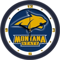 "Montana State Bobcats 12"" Wall Clock - Dimension"