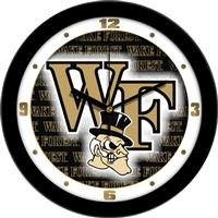 "Wake Forest Demon Deacons 12"" Wall Clock - Dimension"