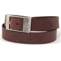Notre Dame Fighting Irish NCAA Men's Embossed Leather Belt