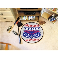 Florida Atlantic Owls NCAA Baseball Round Floor Mat (29)