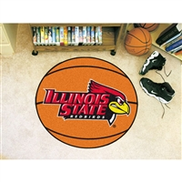 Illinois State Redbirds NCAA Basketball Round Floor Mat (29)