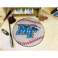Middle Tennessee State Blue Raiders NCAA Baseball Round Floor Mat (29)