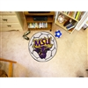 Minnesota State Mankato Mavericks NCAA Soccer Ball Round Floor Mat (29)