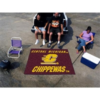 Central Michigan Chippewas NCAA Tailgater Floor Mat (5'x6')