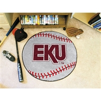 Eastern Kentucky Colonels NCAA Baseball Round Floor Mat (29)