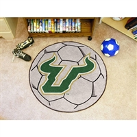 South Florida Bulls NCAA Soccer Ball Round Floor Mat (29)