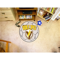 Valparaiso Crusaders NCAA Soccer Ball Round Floor Mat (29)