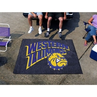 Western Illinois Leathernecks NCAA Tailgater Floor Mat (5'x6')