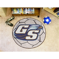 Georgia Southern Eagles NCAA Soccer Ball Round Floor Mat (29)