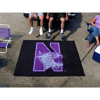 Northwestern Wildcats NCAA Tailgater Floor Mat (5'x6')