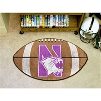 Northwestern Wildcats NCAA Football Floor Mat (22x35)