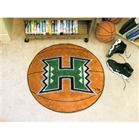 Hawaii Rainbow Warriors NCAA Basketball Round Floor Mat (29)
