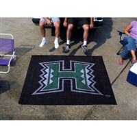 Hawaii Rainbow Warriors NCAA Tailgater Floor Mat (5'x6')