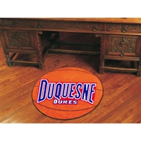 Duquesne Dukes NCAA Basketball Round Floor Mat (29)