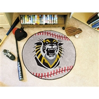 Fort Hays State Tigers NCAA Baseball Round Floor Mat (29)