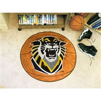 Fort Hays State Tigers NCAA Basketball Round Floor Mat (29)