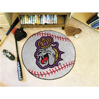 James Madison Dukes NCAA Baseball Round Floor Mat (29)