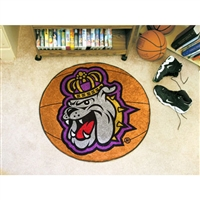 James Madison Dukes NCAA Basketball Round Floor Mat (29)