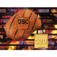 USC Trojans NCAA Fan Brands Grill Logo