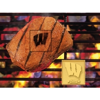 Wisconsin Badgers NCAA Fan Brands Grill Logo