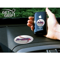 Atlanta Braves MLB Get a Grip Cell Phone Grip Accessory