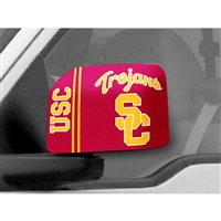 USC Trojans NCAA Mirror Cover (Large)