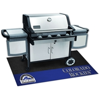 Colorado Rockies MLB Vinyl Grill Mat