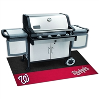 Washington Nationals MLB Vinyl Grill Mat