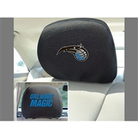 Orlando Magic NBA Polyester Head Rest Cover (2 Pack)