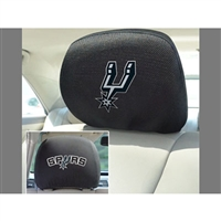 San Antonio Spurs NBA Polyester Head Rest Cover (2 Pack)
