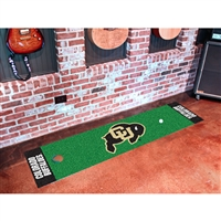 Colorado Golden Buffaloes NCAA Putting Green Runner (18x72)