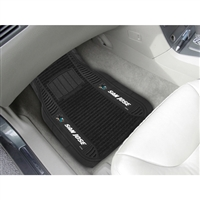 San Jose Sharks NHL Deluxe 2-Piece Vinyl Car Mats (20x27)